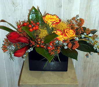 Custom Arrangement in Dallas TX, Petals & Stems Florist
