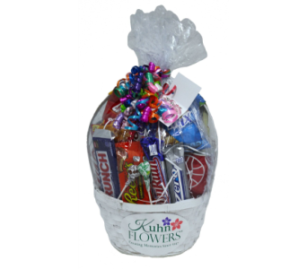 Extra Large Sweet Snack Basket in Jacksonville FL, Kuhn Flowers