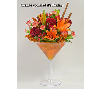 Orange You Glad It's Friday! in Albuquerque NM, Silver Springs Floral & Gift