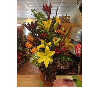 Elegant Fall in Fayetteville NC, Ann's Flower Shop,,