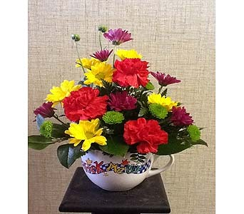 Pick me up bouquet in Rock Island IL, Colman Florist