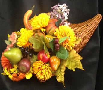 Fall Cornucopia in Anchorage AK, Alaska Flower Shop