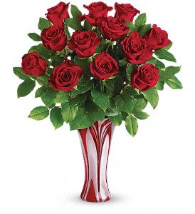I Adore You Bouquet by Teleflora in Meridian MS, Saxon's Flowers and Gifts