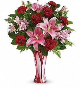 Teleflora's Rose Nouveau Bouquet in Orland Park IL, Sherry's Flower Shoppe