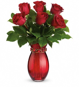 Teleflora's Sweethearts Forever Bouquet in Meridian MS, Saxon's Flowers and Gifts