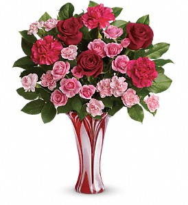 Teleflora's Swirls Of Love Bouquet in Lake Worth FL, Flower Jungle of Lake Worth