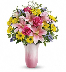 Teleflora's Pretty Petal Bouquet in Lansing MI, Delta Flowers