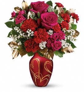 Teleflora's You're In My Heart Bouquet in Vienna VA, Caffi's Florist