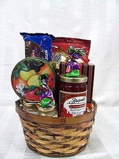 Sweet and Savory Basket in Brandon MB, Carolyn's Floral Designs