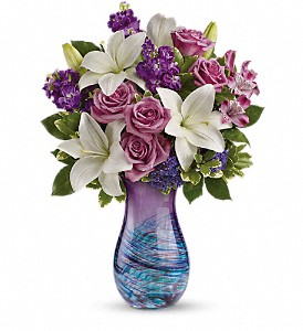Teleflora's Artful Elegance Bouquet WAS $89.95 in Columbus OH, OSUFLOWERS .COM