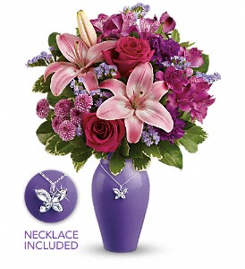 Teleflora's Beautiful Butterfly Bouquet in Pleasanton CA, Bloomies On Main LLC