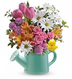 Teleflora's Send a Hug Tweet Tweet Bouquet in Lansing MI, Delta Flowers