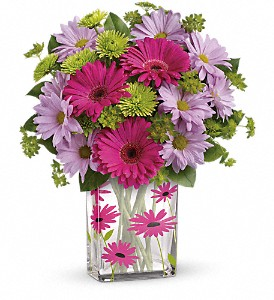 Teleflora's Thanks A Daisy Bouquet in Meadville PA, Cobblestone Cottage and Gardens LLC