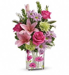 Teleflora's Thanks In Bloom Bouquet in Hendersonville NC, Forget-Me-Not Florist