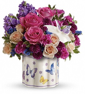 Teleflora's Dancing In Joy Bouquet in Myrtle Beach SC, La Zelle's Flower Shop