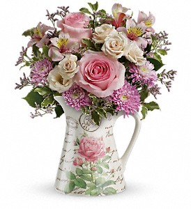 Teleflora's Fill My Heart Bouquet in Hightstown NJ, South Pacific Flowers / Pottery Wheel Gallery