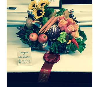 Julie Vaughan � 2nd Place � 2014 NC State Fair in Wake Forest NC, Wake Forest Florist