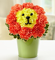 Laughing Lion in Princeton NJ, Perna's Plant and Flower Shop, Inc