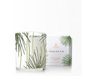 Frasier Fir Pine Needle Candle in Detroit and St. Clair Shores MI, Conner Park Florist