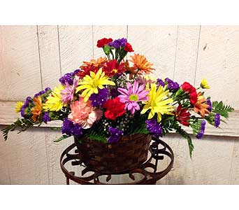 Long Lasting Fall Centerpiece in Muskegon MI, Barry's Flower Shop