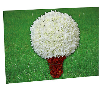 Golf Tribute in New Paltz NY, The Colonial Flower Shop
