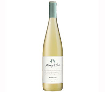 Menage-a-trois Moscato in Gahanna OH, Rees Flowers & Gifts, Inc.
