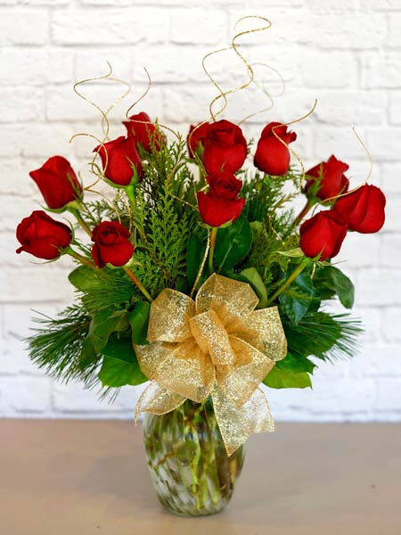 Christmas Classic Dozen in Fort Myers FL, Fort Myers Florist, Inc.