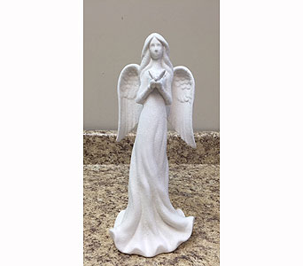 Sugar Finish Angel in Brownsburg IN, Queen Anne's Lace Flowers & Gifts