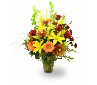 Fall Flowers Delivery Eugene OR The Shamrock Flowers Gifts
