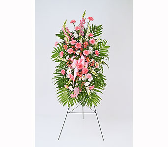 Eternal Glory Easel in Indianapolis IN, Gillespie Florists