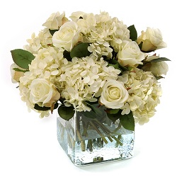 HYDRANGEA AND ROSES BEAUTY in Vienna VA, Vienna Florist & Gifts