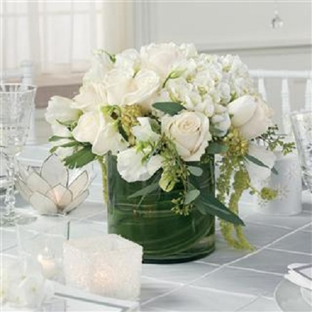WHITE SEDUCTION BOUQUET in Vienna VA, Vienna Florist & Gifts