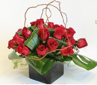 LOVE NOTE BOUQUET in Vienna VA, Vienna Florist & Gifts