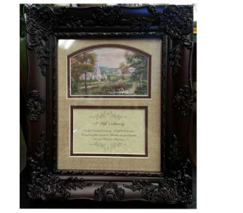 A Wife's Memory Frame in Hendersonville TN, Brown's Florist