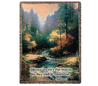 Creekside Trail Tapestry Throw in Hendersonville TN, Brown's Florist