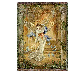 Angel of Light Tapestry Throw in Hendersonville TN, Brown's Florist