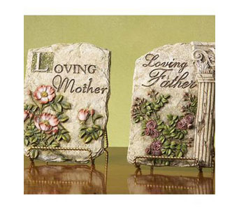 Loving Mother/Father Stepping Stone in Bradenton FL, Ms. Scarlett's Flowers & Gifts