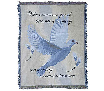 Treasured Memory Woven Throw in Hendersonville TN, Brown's Florist