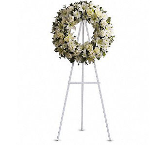 Serenity Wreath in Houston TX, River Oaks Flower House, Inc.