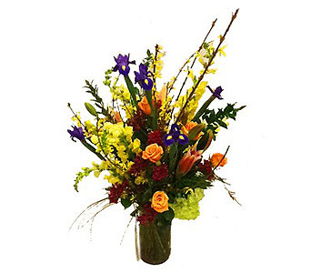 Colorful Arrangement in Houston TX, River Oaks Flower House, Inc.