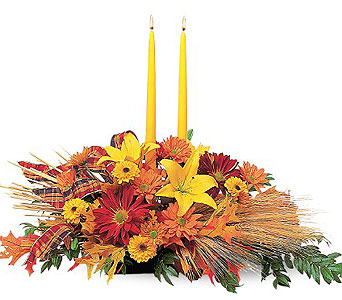 Harvest Centerpiece in Santa Clara CA, Citti's Florists
