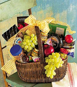 Fruit & Gourmet Basket in Santa Clara CA, Citti's Florists