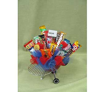 BBQ CANDY BOUQUET in Brandon MB, Carolyn's Floral Designs
