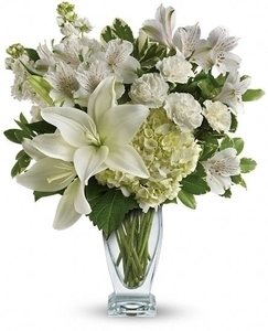 Purest Love Bouquet in Clearwater FL, Hassell Florist