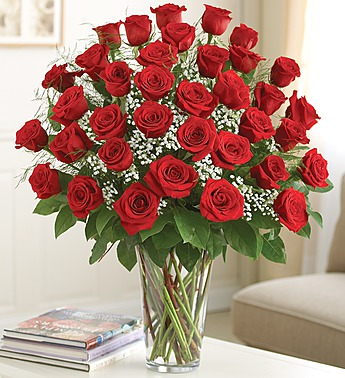 3 dozen roses in Princeton NJ, Perna's Plant and Flower Shop, Inc