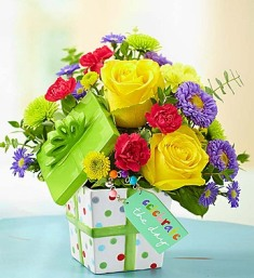 Celebrate the Day Present Bouquet in Camp Hill and Harrisburg PA, Pealer's Flowers