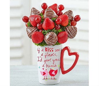 Mugable Bunch of Berries in Mount Morris MI, June's Floral Company & Fruit Bouquets