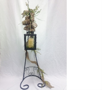 LANTERN WITH STAND in Pittsburgh PA, Harolds Flower Shop