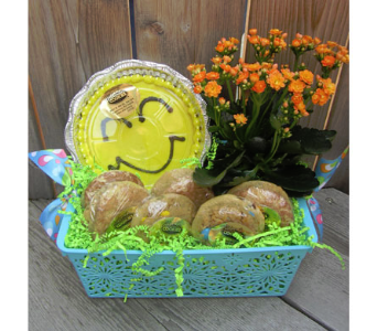 Blooming Cookie Basket in Lawrence KS, Owens Flower Shop Inc.