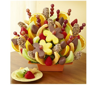 Abundant Fruit and Chocolate Tray in Richmond MI, Richmond Flower Shop